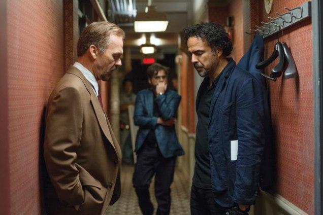 Michael Keaton y Alejandro G. Iñárritu