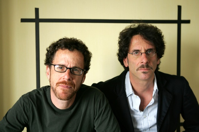 Filmakers Ethan Coen, left and Joel Coen, pose for a portrait while promoting their new movie