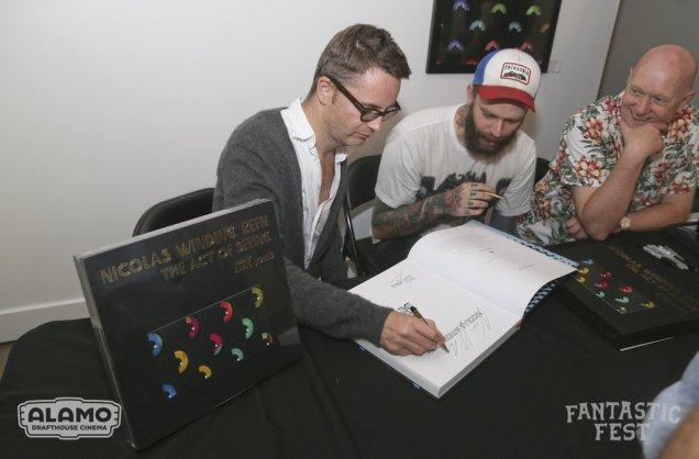 NWR Book Signing- Fantastic Fest 2015